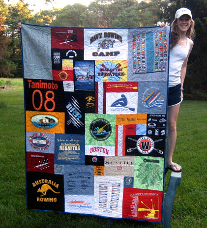 Ariana\'s rowing quilt.jpg - Members Gallery - MQR Forums : too cool tshirt quilt - Adamdwight.com