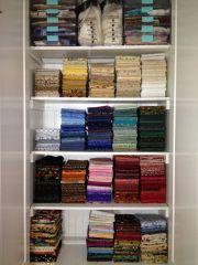 Barb K in Buffalo sewing studio