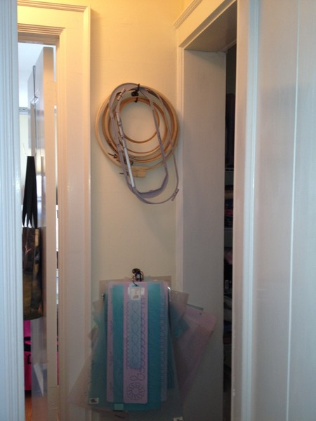 closet hooks stencils R